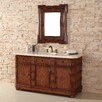 "James Martin Furniture Charleston 60"" Single Vanity Set with Stone Top"