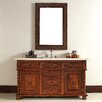 "<strong>James Martin Furniture</strong> Continental 60"" Single Vanity Set with Stone Top"
