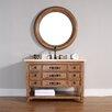 "James Martin Furniture Malibu 48"" Single Vanity Set with Stone Top"