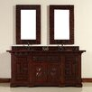 "<strong>James Martin Furniture</strong> Monterey 72"" Double Vanity Set with Wood Top"