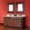"<strong>James Martin Furniture</strong> Regent 72"" Double Vanity Set with Stone Top"