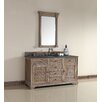 "James Martin Furniture Savannah 60"" Single Cabinet Vanity Set"
