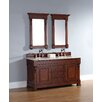 "James Martin Furniture Brookfield 60"" Single Cabinet Bathroom Vanity Set"