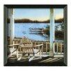 Timeless Frames Harbor View by John Rossini Framed Painting Print