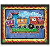 <strong>Train Framed Painting Print</strong> by Timeless Frames