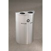 Glaro, Inc. RecyclePro Value Series 14 Gallon Multi Compartment Recycling Bin