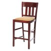 Beechwood Mountain LLC Skillman Bar Stool with Cushion (Set of 2)
