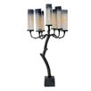 Costa Brava Glass Candelabra