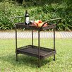 Wicker Lane Serving Cart