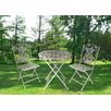 <strong>Rosa Series 3 Piece Bistro Set</strong> by JJ International
