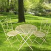 <strong>JJ International</strong> Camilla Series 3 Piece Bistro Set