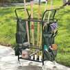 <strong>JJ International</strong> Garden Tool Caddy with Casters