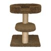 "23"" Two Tier Cat Tree with Lounger"