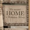 Heritage Lace Downton Life 2nd Home Tea Towel