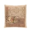 Heritage Lace Downton Abbey Tea Pillow Cover with Insert