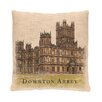 Heritage Lace Downton Abbey Castle Pillow Cover with Filler