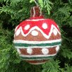 <strong>Felt Gingerbread Ball</strong> by Mills Floral
