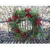 <strong>Aw Red Berry and Pine Wreath</strong> by Mills Floral