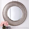 Two's Company Juliette  Round Wall Mirror