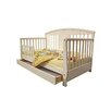 <strong>Deluxe Toddler Day Bed with Storage Drawer</strong> by Dream On Me