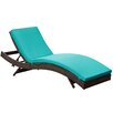 Modway Peer Chaise Lounge with Cushion