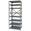 "Hallowell Hi-Tech Free Standing 87"" H Eight Shelf Shelving Unit"