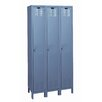 Hallowell Value Max Locker Single Tier 3 Wide (Knock-Down) (Quick Ship)