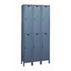 <strong>Value Max Locker Double Tier 3 Wide (Knock-Down) (Quick Ship)</strong> by Hallowell
