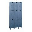 <strong>Value Max Locker Triple Tier 3 Wide (Knock-Down) (Quick Ship)</strong> by Hallowell