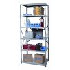 Hallowell Hi-Tech Shelving Duty Open Type 6 Shelf Shelving Unit Starter