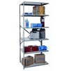 <strong>Hi-Tech Duty Open Type 6 Shelf Shelving Unit Add-on</strong> by Hallowell