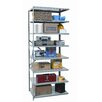 Hi-Tech Shelving Medium-Duty Open Type Add-on Unit with 8 Shelves