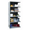 "Hallowell Hi-Tech Heavy-Duty Closed Type 87"" H 6 Shelf Shelving Unit Add-on"