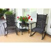 <strong>Tortuga Outdoor</strong> Portside 3 Piece Rocker Seating Group with Cushions