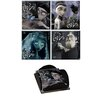 Trend Setters Corpse Bride Glass Print Coaster (Set of 4)