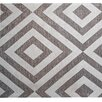 STA Elements Diamond Pattern Tapestry Gray Area Rug