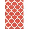 Artistic Weavers York Orange Geometric Harlow Area Rug
