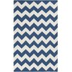Artistic Weavers York Chevron Pheobe Navy Area Rug