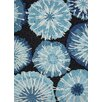Jaipur Rugs Blue Barcelona Abstract Blue Indoor/Outdoor Area Rug