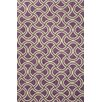 Jaipur Rugs Barcelona Purple/Taupe Geometric Indoor/Outdoor Area Rug