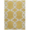 Jaipur Rugs City Yellow / Ivory Geometric Area Rug