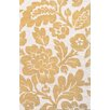 Jaipur Rugs Traverse Wool Yellow/Ivory Floral Rug