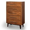 Green Bay Road 5 Drawer High Dresser