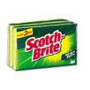 3M Scotch-Brite Heavy-Duty Scrub Sponge, 3/Pack