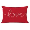 One Bella Casa Holiday Love Mix and Match Pillow