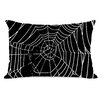 One Bella Casa All Over Spider Webs Pillow
