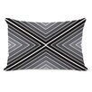 One Bella Casa Marks The Spot Geometric  Pillow