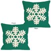 <strong>OneBellaCasa.com</strong> Single Snowflake Pillow
