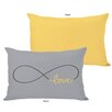 One Bella Casa Infinite Love Pillow
