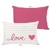 One Bella Casa Love on a Line Pillow